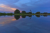 Sunset, Amazon Basin, Brazil
