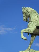 copper horse statue