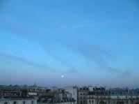 Himmel über Paris