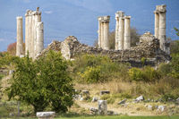 The Ancient Ruined City Of  Aphrodisias, Anatolia Turkey