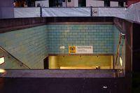 U-Bahn Tunneleingang