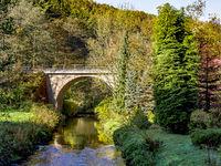 Bridge in the National Park Saxon Switzerland