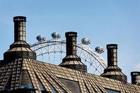 London Eye. Millennium Wheel.