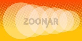 abstract orange blur background
