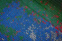 Colourful circle patterns