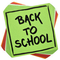 back to school reminder note