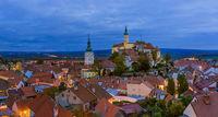 Mikulov cityscape in Czech Republic