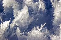 Eisiges Wunder der Natur