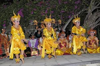 Legong, Balinesische Tänzer, Balinesischer Tanz