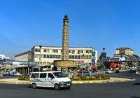 Siegesdenkmal auf dem Platz Arat Kilo, Addis Abeba, Äthiopien