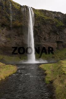 Island, Wasserfall Seljalandfoss