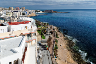 Seaside of Torrevieja city. Costa Blanca. Spain