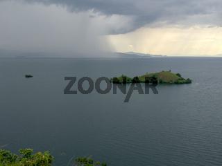 See Kivu / Kivusee in Ruanda, Afrika