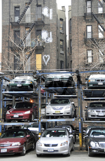 Etagenparkplatz