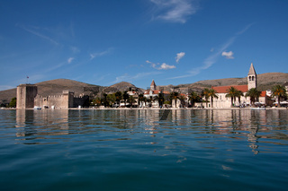 Historisches Trogir. Kroatien