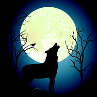 Wolf mit Mond.eps