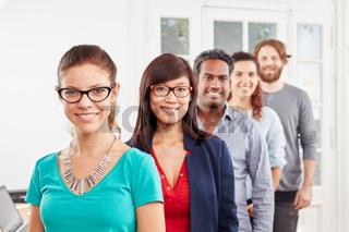 Studenten im Startup Team