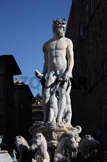Florenz, Piazza della Signoria, Neptunbrunnen