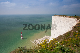 Beachy Head Lighthouse, Eastbourne, East Sussex, England