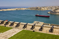 Saluting Battery, Upper Barrakka Garden, Valletta, Malta