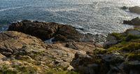 am Meer in der Bretange am Atlantik