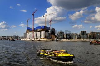 Baustelle Elbphilharmonie Hamburg