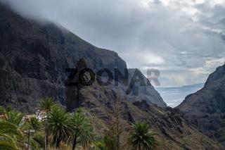 View on Teno mountains