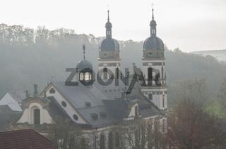 Kloster Schoental am Jagstfluss