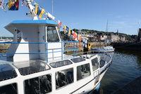Schiff bei Honfleur, Normandie