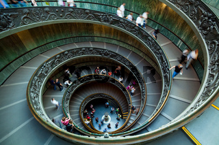 Spiral Staircase, Vatican, Rome