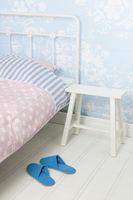 Bedroom with bedstead
