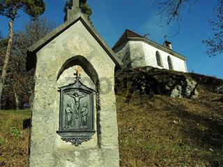 Buergle, Bergkapelle auf der Schwaebischen Alb
