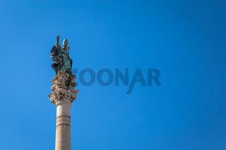 Santo Oronzo Column in Lecce, Italy