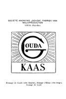 """Historisches Markenzeichen der Marke """"Gouda"""" der Käserei Gouda aus dem Jahr 1900"""