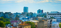 Panoramic view of Bucharest, Romania