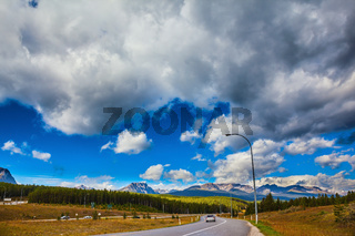 The magnificent Canadian highway
