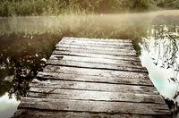 Fishermans bridge in the morning