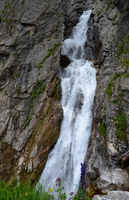 Simms-Wasserfall im Lechtal