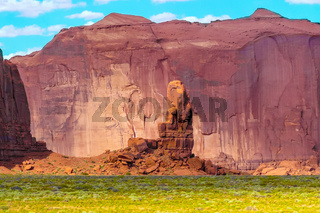 Big Chair Rock Monument Valley