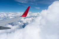 airfoil above the clouds