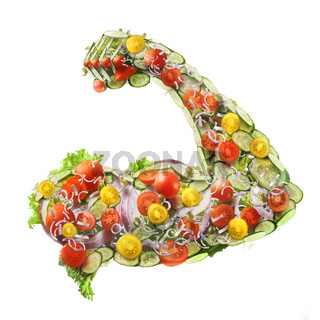 power fresh salad