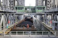 Schiffshebewerk Niederfinow, Brandenburg, Germany