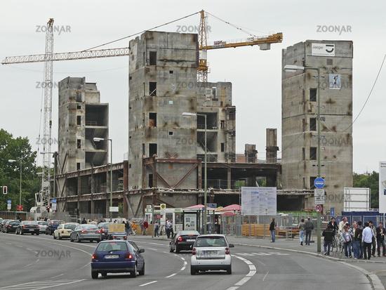Abriss Palast der Republik in Berlin, August 2008