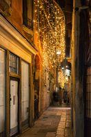 Evening street in Venice