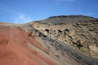 Lanzarote, Kraterrand bei El Golfo