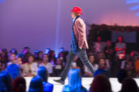Sofia Fashion Week male red hat