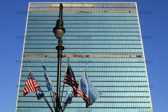 Glaspalast, UNO-Sitz New York, USA