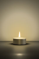 typical tealight with space for your content