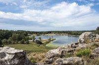 Beautiful, peaceful Ipora lake recreational site in Tacuarembo, Uruguay
