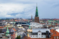 Blick über die Stadt Kopenhagen, Dänemark